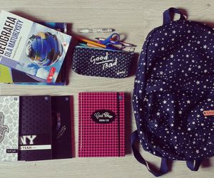 book, fashion, and back to school image
