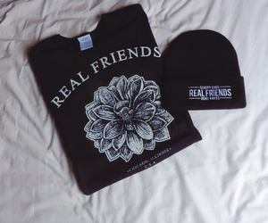 bands, merch, and real friends image
