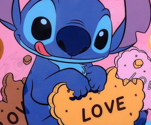stitch, cute, and love image