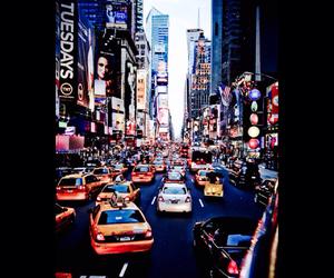city, car, and newyork image