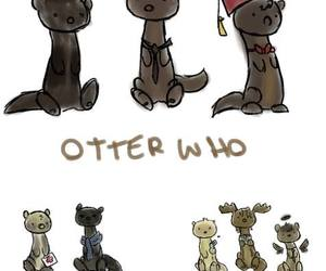 dean, doctor who, and otter image