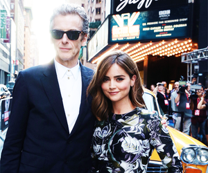 jenna coleman, doctor who, and peter capaldi image