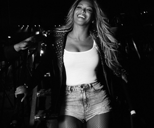 beautiful, black&white, and smile image
