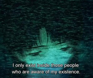 anime, quotes, and dark image