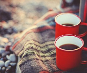 autumn, tea cup, and winter image