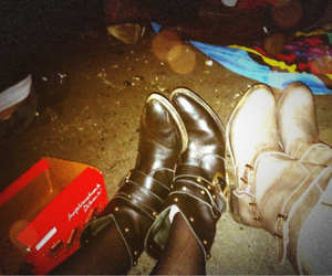boots, concert, and festival image
