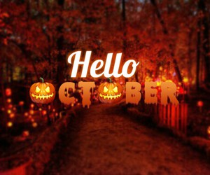 Halloween, october, and fall image