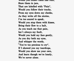 quotes, pain, and poem image