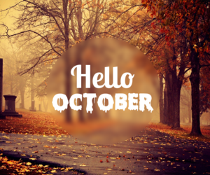 october, fall, and Halloween image