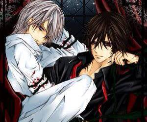 vampire knight, kaname, and zero image