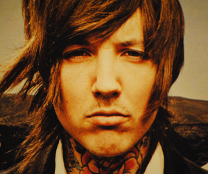 bmth, oliver sykes, and olives sykes image
