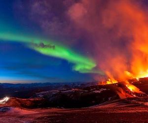 vulcan, vulcao, and fogo. image