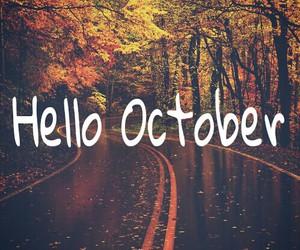 autumn, october, and beautiful image
