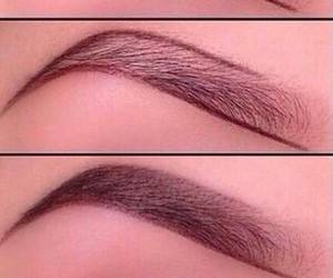 make up, eyebrown, and you can image