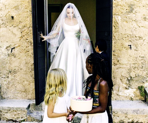 Angelina Jolie, wedding, and dress image