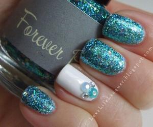 girly, nail art, and nail polish image
