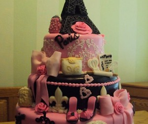 cakes, sweet, and love image