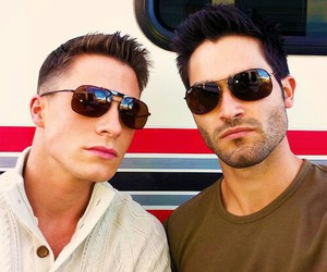 hotties, colton haynes, and tyler hoechlin image