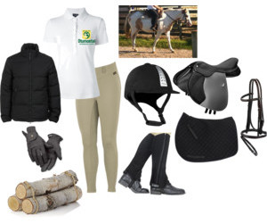 angel, Polyvore, and riding image
