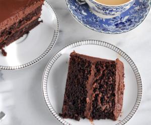 cake, chocolate, and oreo image