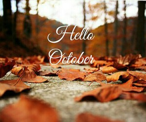October Autumn And Fall Image