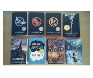 books, inspiration, and the hunger games image