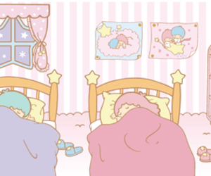 sanrio, little twin stars, and cute image