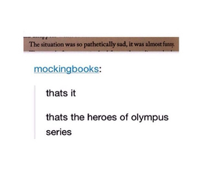 books, funny, and percy jackson image