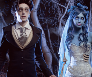 boy, corpse bride, and cosplay image