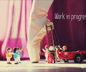 dance, ballet, and playmobil image