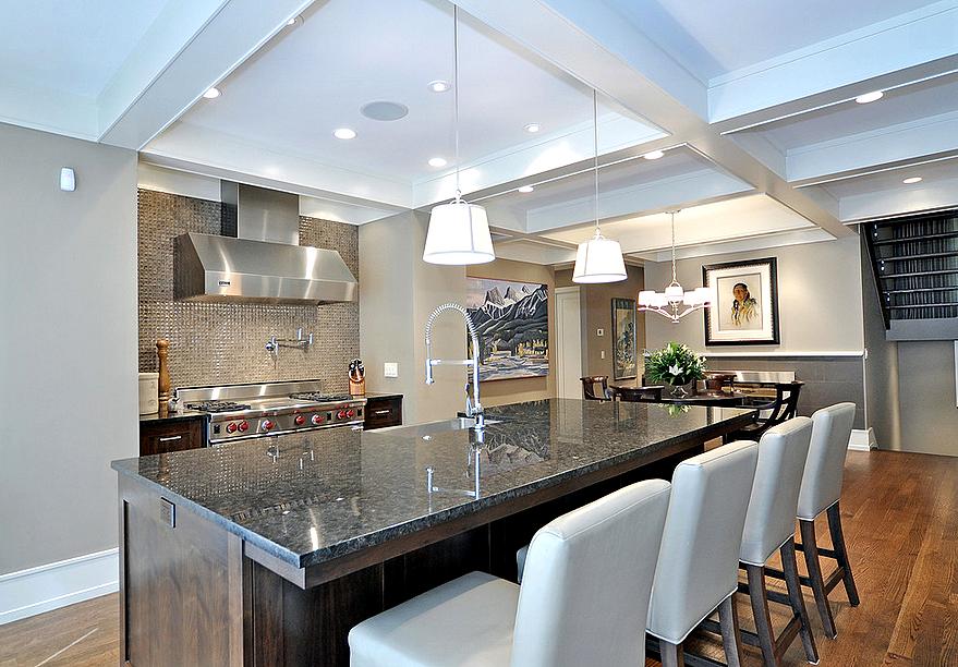 такие приятности потолок для кухни фото в коттеджах полные
