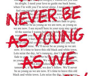 5sos, Lyrics, and never be image
