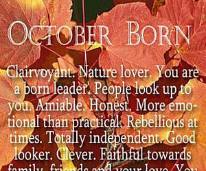 birthday and october image