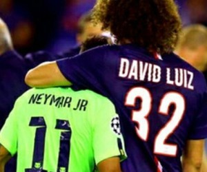 david luiz, neymar, and psg image