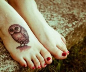 girl, tattoo, and foot image