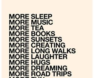 love, music, and sleep image