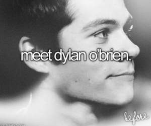dylan o'brien, teen wolf, and meet image