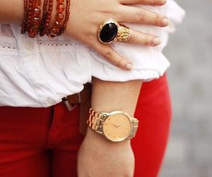 ring, fashion, and bracelet image
