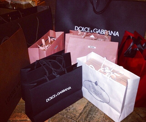 dolce gabbana, shopping time, and Louis Vuitton image