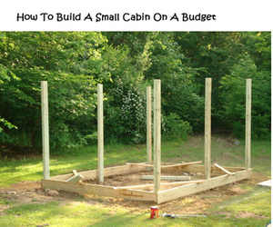 cabin and diy image