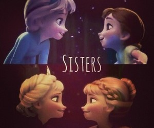frozen, girls, and sisters image