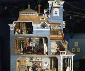 doll house, cool, and moomin house image