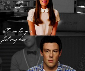glee, :c, and finchel image