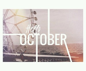 october and month image