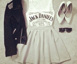 fashion, outfit, and jack daniels image