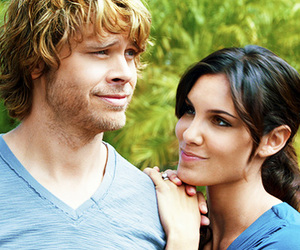 kensi, deeks, and ncis la image