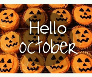 october, hello, and Halloween image