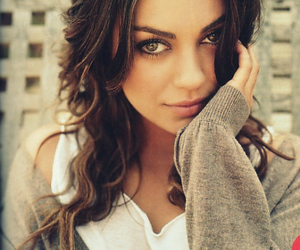 Mila Kunis, eyes, and pretty image
