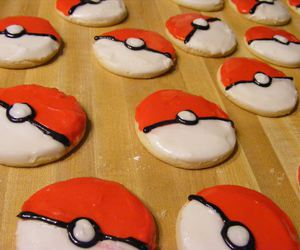 cookie, food, and pokeball image
