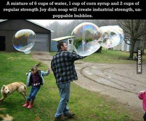 bubbles, diy, and funny image
